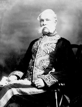 The Honourable Edgar Dewdney, Lieutenant Governor from 1892 to 1897.