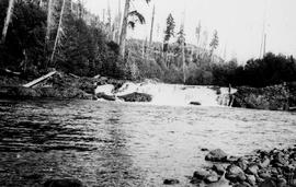 """Varney Falls on the Marble River""."