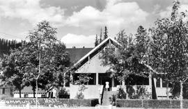 """Community Hall, Chapman Camp."""