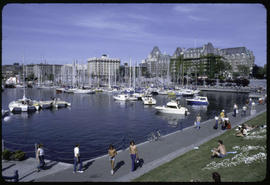 Victoria. Empress Hotel And Inner Harbour