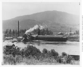 Chase. Adams River Lumber Co. Sawmill