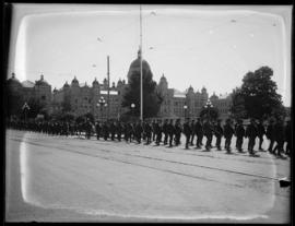 143rd Battalion parade