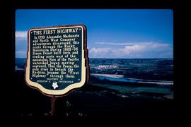 """First Highway"" Stop of Interest sign"