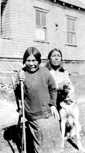 Two women at Ahousaht.