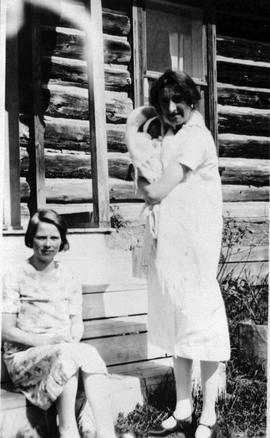 Nurses at the Burns Lake Hospital.