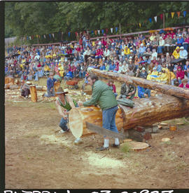All Sooke Day; logging sports.