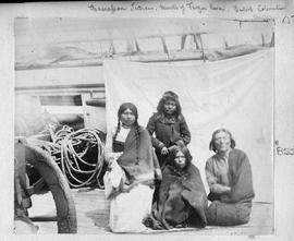 """Chawassen [Tsawwassen] Indians, Mouth of Fraser River, British Columbia."""