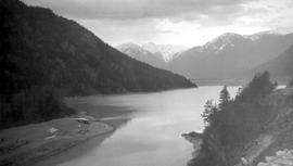 Pemberton, south end of Lillooet Lake