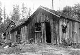 A South Wellington miner's cabin.