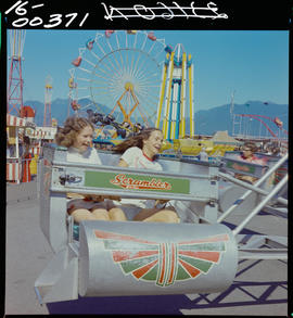 Scrambler At The PNE,  Vancouver