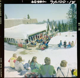 Skiers At Silver Star, Vernon
