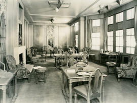 Empress of Britain; First Class Writing Room