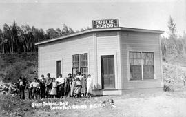 First school day South Fort George B.C. 1910