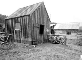 Barkerville. Mcarthur's Blacksmith Shop