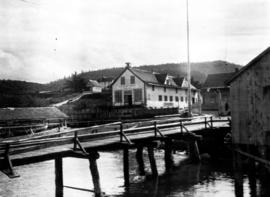 Hudson's Bay Company store; Port Simpson.
