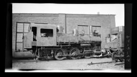 0-6-0, No. 6038, Switcher; Drake Street yard, Vancouver.