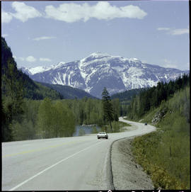 Highway 1 East Of Revelstoke