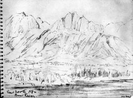 Sawtooth Mtn [Mountain] - Bow River