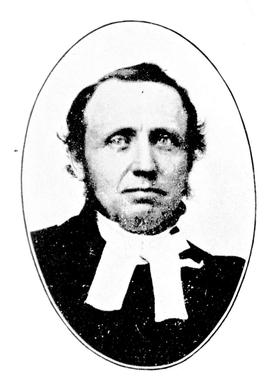 The Reverend Edward Cridge, chaplain to the Hudson's Bay Company.
