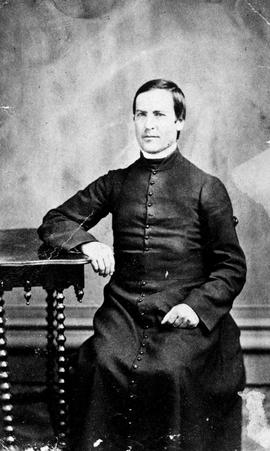 Reverend Joseph Michaud; architect of the first cathedral in Victoria; on Humboldt Street; ordained by Bishop Demers.