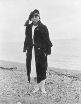 A First Nations woman; Alaska.