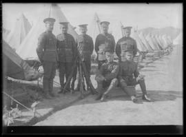 Canadian Gunners at Vernon Camp