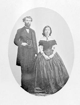 Mr. and Mrs. William John MacDonald; he was appointed to the Canadian Senate 13 Dec 1871