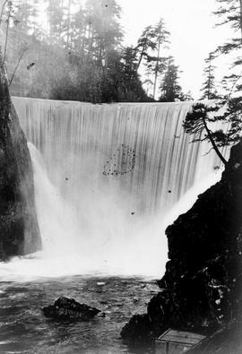"""Completed Nanaimo Dam as of 24th Oct 1931"", No. 75."