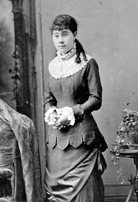 Miss Mary Adams Kelly of Barkerville, later became Mrs. James B. Uren.