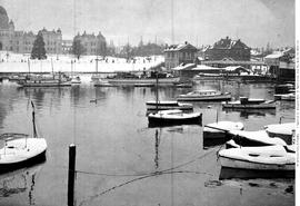 The Inner Harbour; the Big Snow, Victoria
