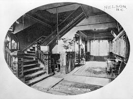 """Ladies' entrance, Hume Hotel, Nelson, BC"""