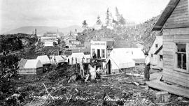 """General view of Knowville, Prince Rupert, BC""."