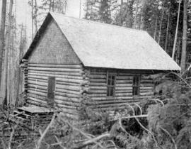 The log church at Glenbank, B.C.