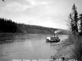 SS Charlotte near Quesnelle Forks on the Fraser River.