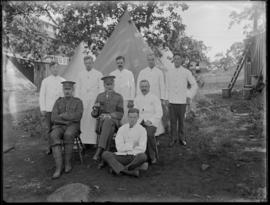 Camp cooks, Willows; 48th battalion