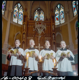 Choir Boys In A Vancouver Church