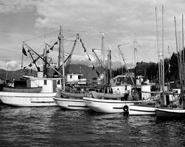 Fishermans Wharf At Prince Rupert Harbour