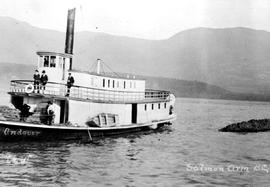 The SS Andover at Salmon Arm.