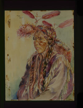 Maude Jo, Aged 25, Quamicha Indian....