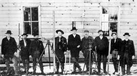 Sumas. Group Of Surveyors Of Sumas Prairie.