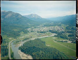 Aerial Of Fernie