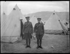11th CMR soldiers at Vernon Camp