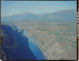 Aerial. Telegraph Creek And Stikine River