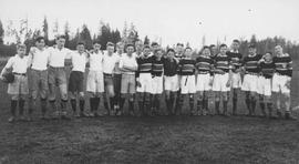 After a soccer game against Shawnigan Lake School at Qualicum Beach School; became Qualicum Colle...