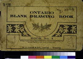Blank Ontario Drawing Book No. 1.