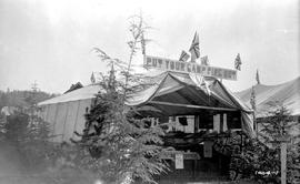 Forest Service; exhibit at the Hazelton Agricultural Fair.