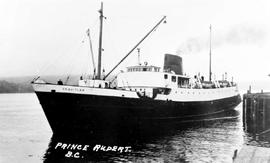 """Prince Rupert BC""; the SS Coquitlam."