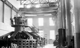 Interior plant at Lower Bonnington Falls, West Kootenay Power and Light Co. Ltd., 60,000 horsepower