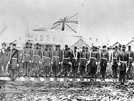 Victoria Pioneer Rifle Corps, also known at the time as Sir James Douglas' Coloured Regiment