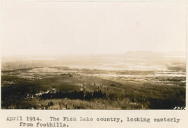 The Fish Lake country, looking easterly from foothills